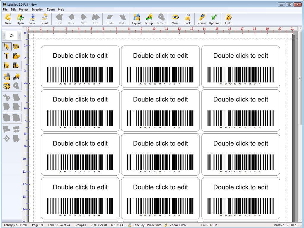 How To Print Out Barcode Labels