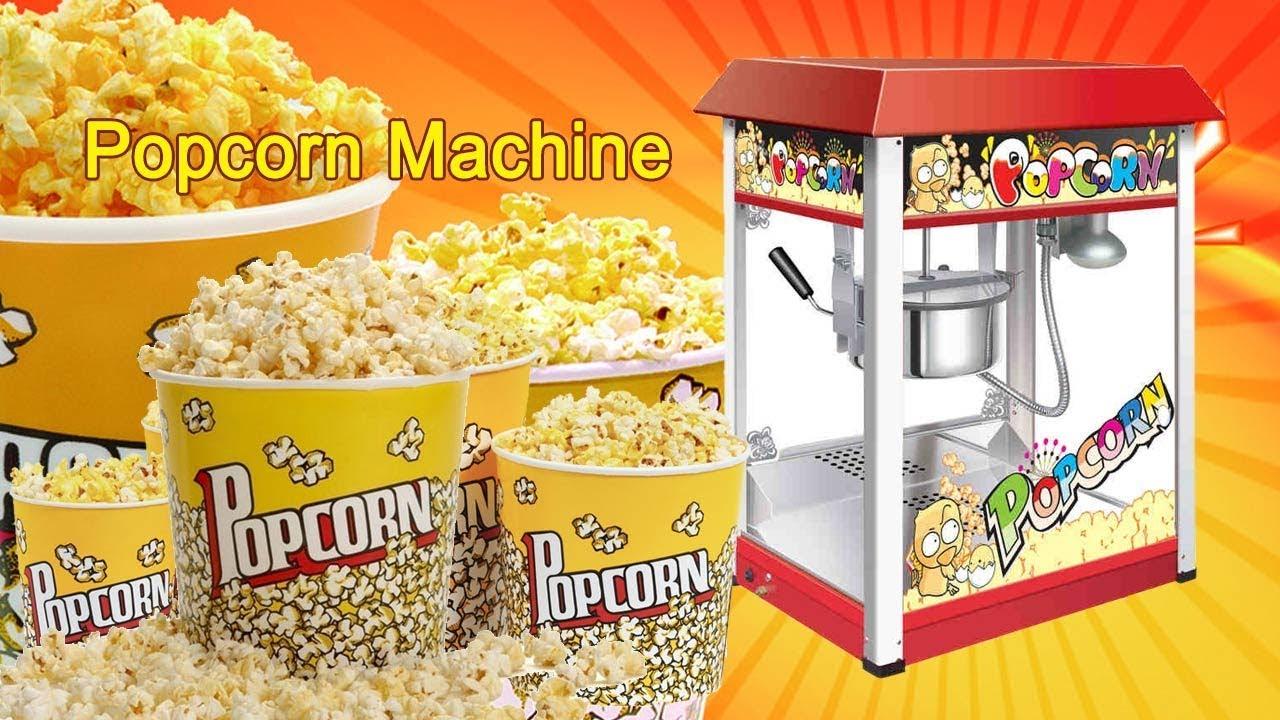 Best Commercial Popcorn Machines